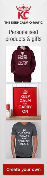 Keep Calm Banner 160x600