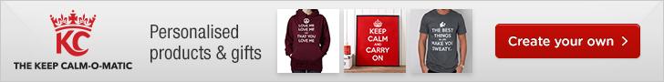 Keep Calm Banner 728x90
