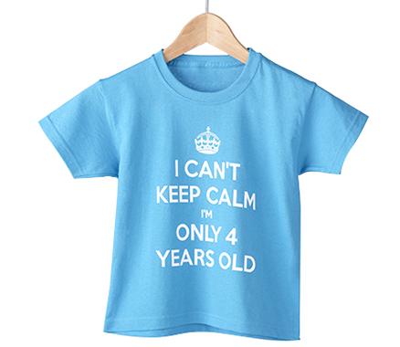 Keep Calm Boy's T-Shirt