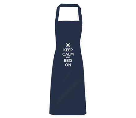 Keep Calm and BBQ On Apron