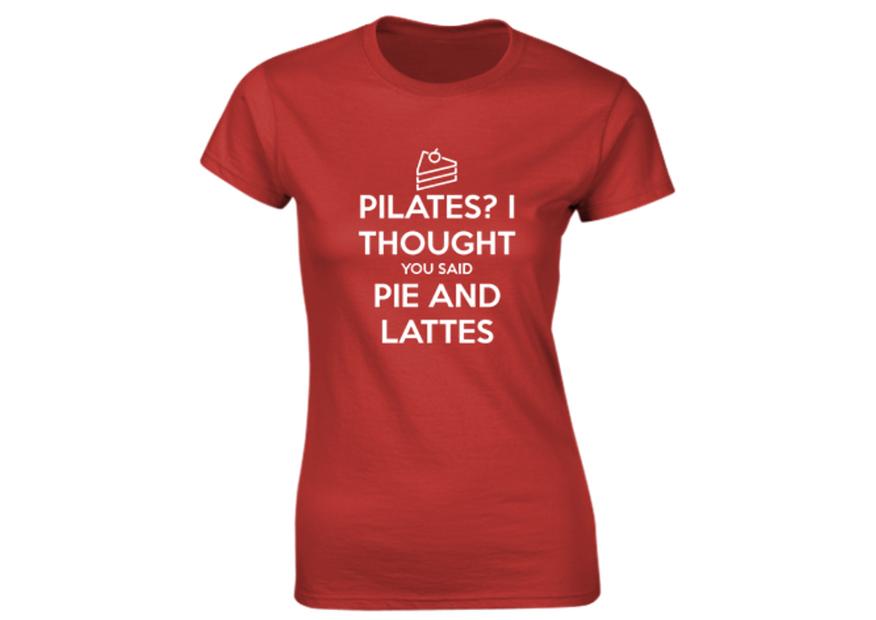 Pilates Ladies T-Shirt