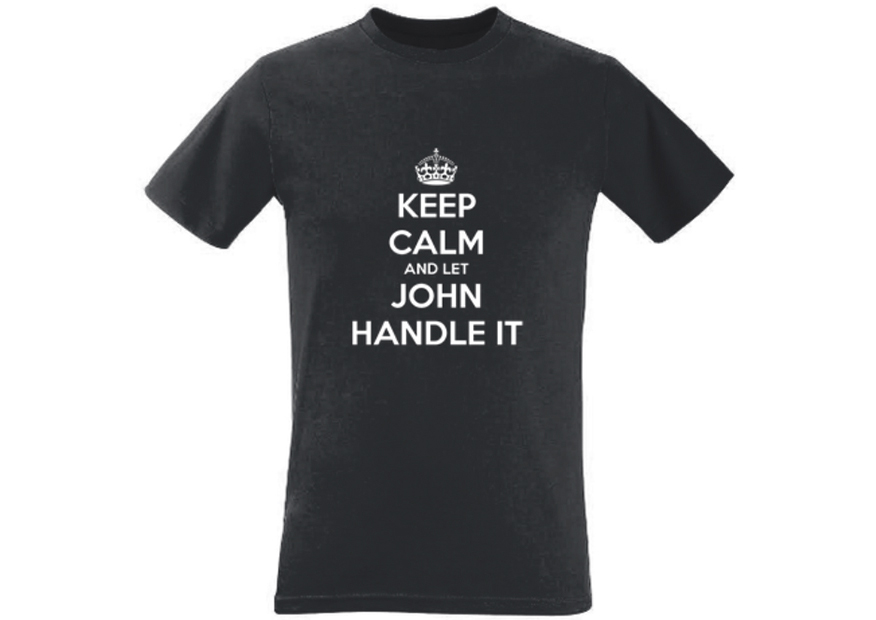 Keep Calm and Handle It Men's T-Shirt