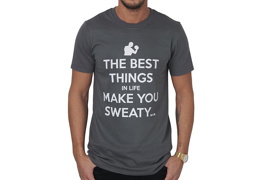 Keep Calm Personalised Grey Men's T-Shirt