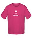 Number 1 Daughter T-shirt