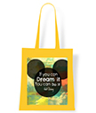 Dream It Yellow Tote Bag