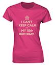 18th Birthday Personalised T-Shirt