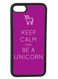 Keep Calm and be a Unicorn iPhone Case