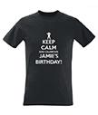 Personalised Men's Birthday T-Shirt
