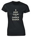 Keep Calm and Dance Personalised T-Shirt