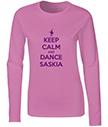Keep Calm and Dance Long Sleeve T-Shirts