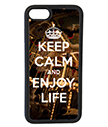 Keep Calm and Enjoy Life iPhone Case