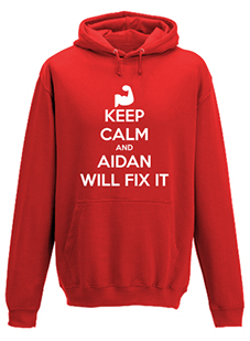Keep Calm and Fix It Hoodie Men's