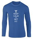 Keep Cal and Get Fit Men's T-Shirts