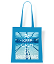 Keep Calm and Go Swimming Tote Bag