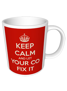 Your company name corporate mug