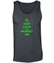 Keep Calm and Monkey On Tank Top