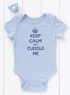 Keep Calm Babygrow