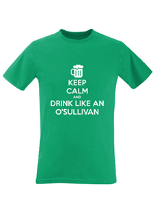 Keep Calm and Drink Like A Men's T-Shirt