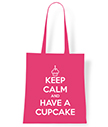 Keep Calm and Have a Cupcake Tote Bag