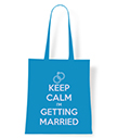 Keep Calm I'm Getting Married Tote Bag