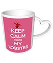 You're my Lobster Heart Mug