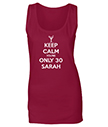 Keep Calm you're only 30 Tank Top