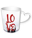 Love Heart Handle Mug