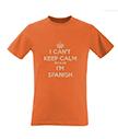 I Can't Keep Calm I'm Spanish Men's T-Shirt