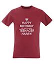 Happy Birthday Red Men's T-Shirt