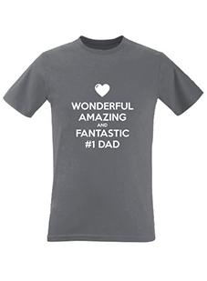 Number 1 Dad Men's T-Shirt