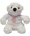 Personalised Polar Bear Toy