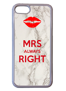 Mrs Always Right Personalised iPhone Case