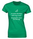 Personalised Birthday Loves T-Shirt