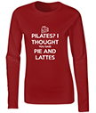 Pie and Lattes Ladies Long Sleeve T-Shirts