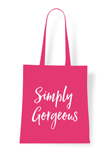 Create your own Tote Bag Simply Gorgeous