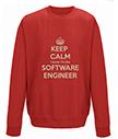 Keep Calm I'm the Software Engineer Sweatshirt