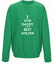 Best Golfer Personalised Sweatshirt