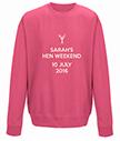 Hen Weekend Personalised Sweatshirt
