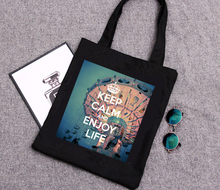 Keep Calm and Enjoy Life Tote Bag
